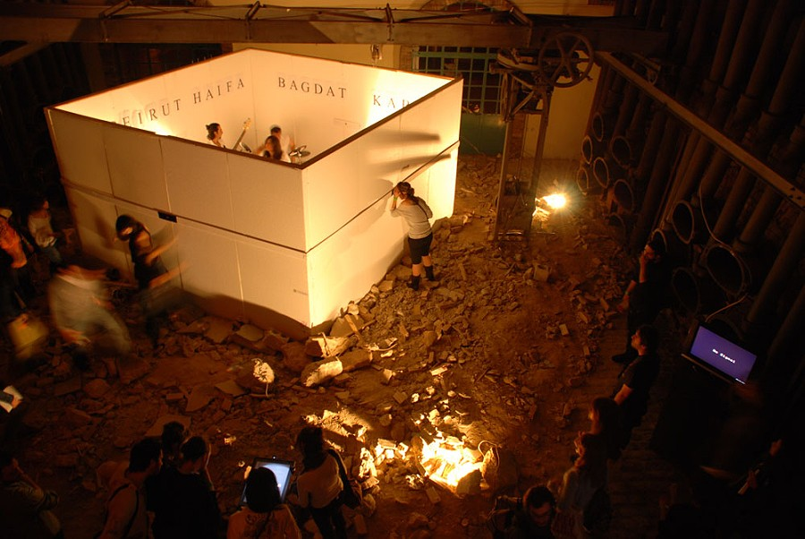 2.performance_Athens Video Art Festival 2007
